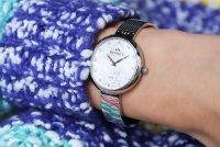 Bisset BSBF20SISX03BX Klasyczne zegarek damski klasyczny szafirowe