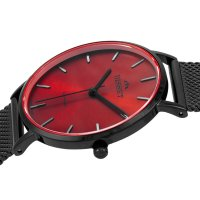 Bisset BSBF33BIRX03BX zegarek czarny klasyczny Klasyczne bransoleta