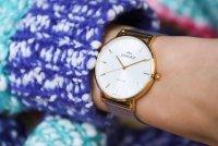 Bisset BSBF33GISX03BX zegarek złoty klasyczny Klasyczne bransoleta