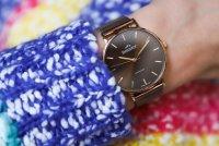 Bisset BSBF33GIYX03BX zegarek złoty klasyczny Klasyczne bransoleta