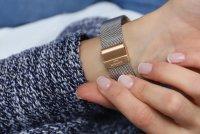Bisset BSBF33RISX03BX zegarek różowe złoto klasyczny Klasyczne bransoleta