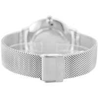 Bisset BSBF33SISX03BX zegarek srebrny klasyczny Klasyczne bransoleta