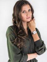 Zegarek damski Caravelle Bransoleta 43L214 - duże 4