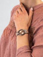 Zegarek damski Caravelle Bransoleta 45P109 srebrny - duże 5