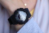 Casio BA-110BC-1AER zegarek czarny sportowy Baby-G pasek