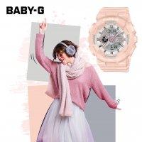 Casio BA-110RG-4AER Baby-G zegarek damski sportowy mineralne