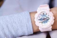 Casio BA-110RG-4AER zegarek różowy sportowy Baby-G pasek