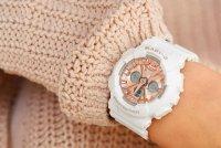 Baby-G BA-130-7A1ER Baby-G zegarek damski sportowy mineralne