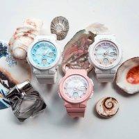 Baby-G BGA-250-7A2ER zegarek biały sportowy Baby-G pasek