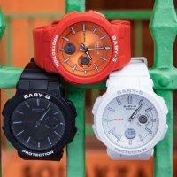 Casio BGA-255-1AER Baby-G sportowy zegarek czarny