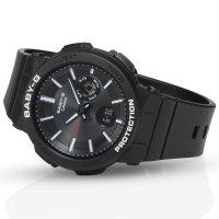 Casio BGA-255-1AER zegarek czarny sportowy Baby-G pasek