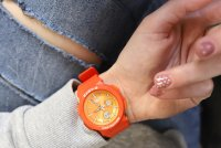Casio BGA-255-4AER zegarek czerwony sportowy Baby-G pasek