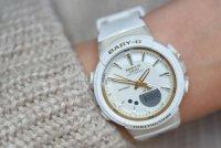 Casio BGS-100GS-7AER Baby-G Step Tracker Baby-G sportowy zegarek biały
