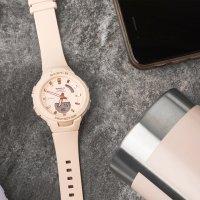 Baby-G BSA-B100-4A1ER zegarek beżowy sportowy Baby-G pasek