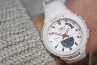 Baby-G BSA-B100-4A1ER Baby-G sportowy zegarek beżowy