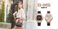 Baby-G MSG-S500CG-1AER zegarek klasyczny Baby-G