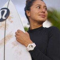 G-Shock GMA-B800-7AER zegarek biały sportowy G-SHOCK S-Series pasek