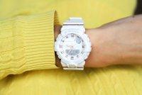 G-Shock GMA-B800-7AER S-SERIES STEP TRACKER G-SHOCK S-Series sportowy zegarek biały