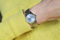 Casio LTS-100D-2A1VEF zegarek srebrny klasyczny Klasyczne bransoleta