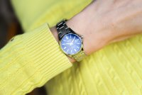 Casio LTS-100D-2A2VEF zegarek srebrny klasyczny Klasyczne bransoleta