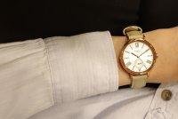 Sheen SHE-3066PGL-7BUEF zegarek różowe złoto klasyczny Sheen pasek