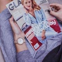 Sheen SHE-4052PGL-7BUEF damski zegarek Sheen pasek