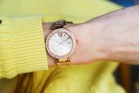 Sheen SHE-4057PG-4AUER zegarek różowe złoto klasyczny Sheen bransoleta
