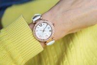 Sheen SHE-4057PGL-7AUER zegarek różowe złoto klasyczny Sheen pasek