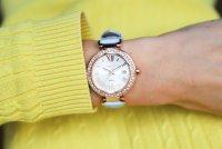 Sheen SHE-4057PGL-7BUER zegarek różowe złoto klasyczny Sheen pasek