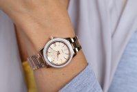 Sheen SHE-4512PG-9AUER zegarek różowe złoto klasyczny Sheen bransoleta