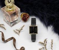 Casio Vintage LTP-E155MGB-1BEF zegarek złoty klasyczny Vintage bransoleta