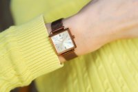 Casio Vintage LTP-E155MR-9BEF Vintage zegarek damski klasyczny mineralne
