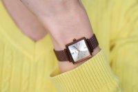 zegarek Casio Vintage LTP-E155MR-9BEF różowe złoto Vintage