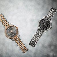 Certina C033.051.22.088.00 zegarek srebrny klasyczny DS-8 bransoleta