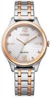 Zegarek damski Citizen  ecodrive EM0506-77A - duże 1