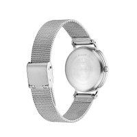 Citizen EM0571-83L zegarek srebrny klasyczny Ecodrive bransoleta