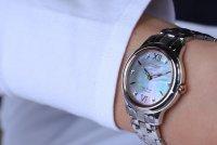 Citizen EM0726-89Y Ecodrive klasyczny zegarek srebrny