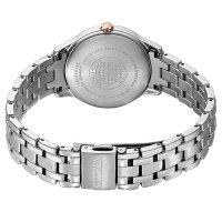 Citizen EM0726-89Y zegarek srebrny klasyczny Ecodrive bransoleta