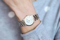 Citizen EG3225-54A zegarek srebrny elegancki Elegance bransoleta