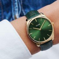Cluse CW0101212006 zegarek złoty klasyczny Feroce pasek