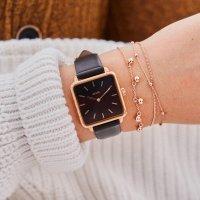zegarek Cluse CL60007 różowe złoto La Tetragone