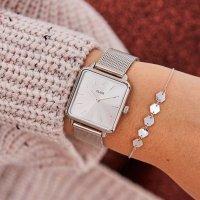 Zegarek damski Cluse  la tétragone CL60012 - duże 4