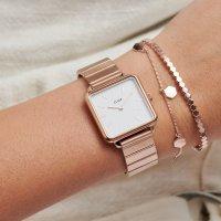 zegarek Cluse CL60024S różowe złoto La Tetragone