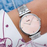 zegarek Cluse CW0101208013 srebrny Triomphe