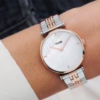 zegarek Cluse CW0101208015 różowe złoto Triomphe