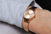 Zegarek damski DKNY bransoleta NY2308 - duże 6
