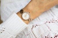 DKNY NY2827 Bransoleta klasyczny zegarek różowe złoto