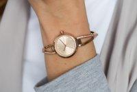 DKNY NY2831 Bransoleta klasyczny zegarek różowe złoto