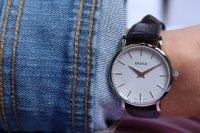 Doxa 173.15.011.01 zegarek srebrny klasyczny D-Light pasek
