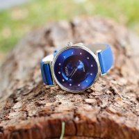 Doxa 145.15.208.03 zegarek srebrny klasyczny D-Trendy pasek